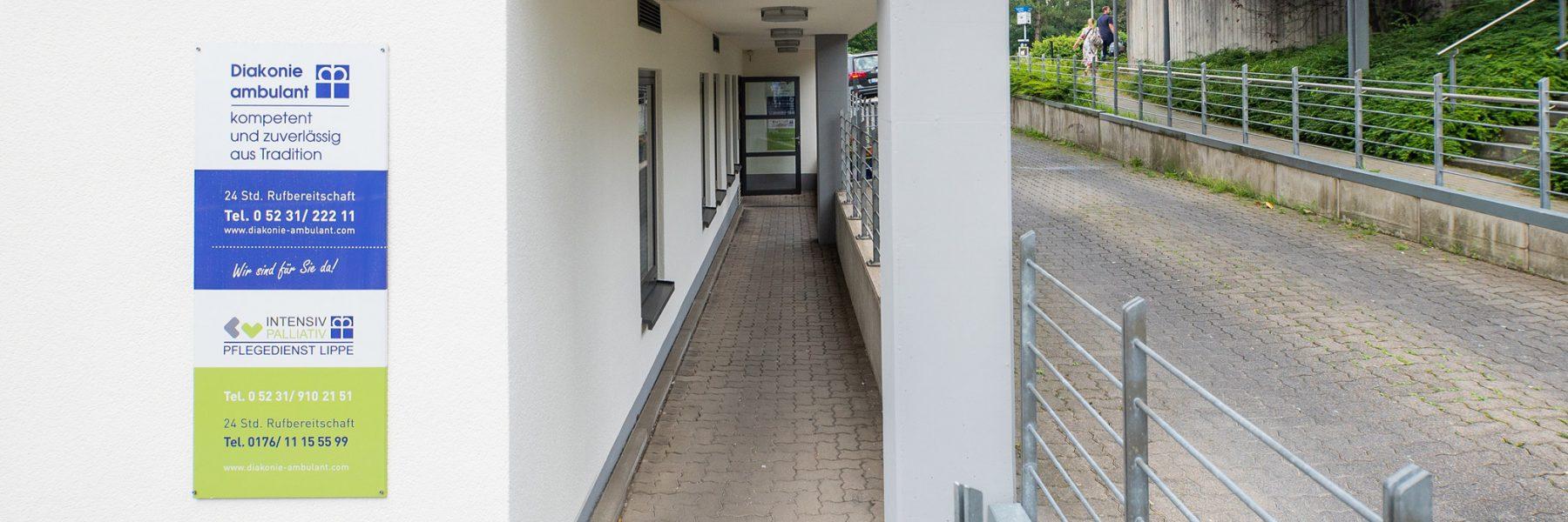 Station Lemgo der Diakonie ambulant