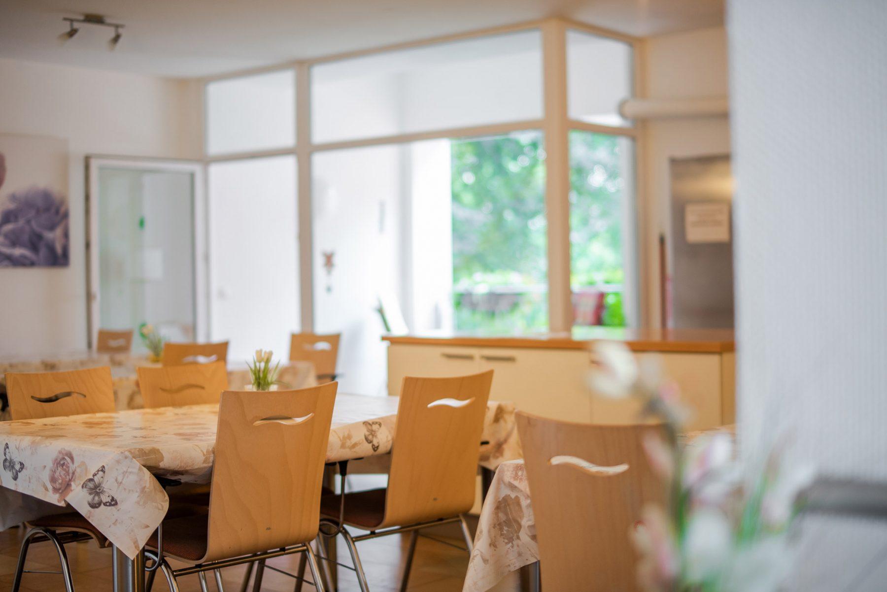 Gemeinschaftsraum in der Seniorenwohngemeinschaft in Horn-Bad Meinberg